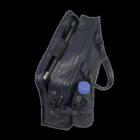 Wassily Чанта за документи и 15 инча ноутбук с отделение за чадър и бутилка в сив цвят - Дамски бизнес чанти