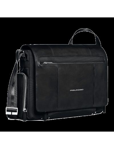 Link Хоризонтална чанта за 15 инча лаптоп и отделение за iPad®/iPad®Air в тъмно кафяв цвят - Link