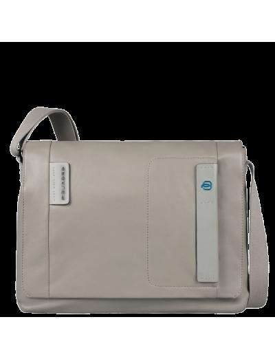Pulse Мъжка чанта с отделение за iPad®/iPad®Air и iPad®mini сив цвят - Pulse