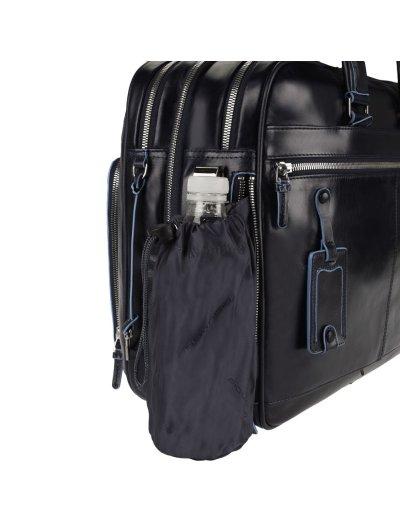 Blue Square Бизнес чанта за документи с две отделения и възможност за разширение - Сравняване на продукти