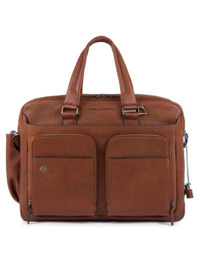Black Square Бизнес чанта с разширение с отделение за 15 инча лаптоп и iPad®Air/Pro 9,7 светло кафяв цвят - Сравняване на продукти