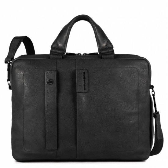 Чанта с разширение и отделение за  iPad®Air/Pro 9,7 and iPad® mini черен цвят - Мъжки бизнес чанти