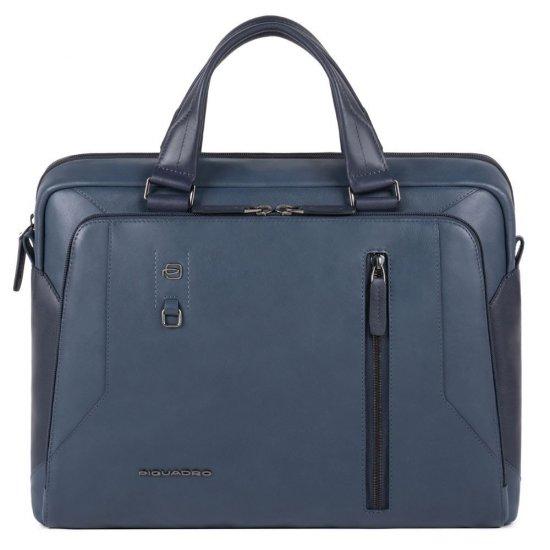 """Hakone Бизнес чанта с отделение за iPad AIR - iPad Pro 9,7/iPad 11"""" в син цвят - Дамски бизнес чанти"""