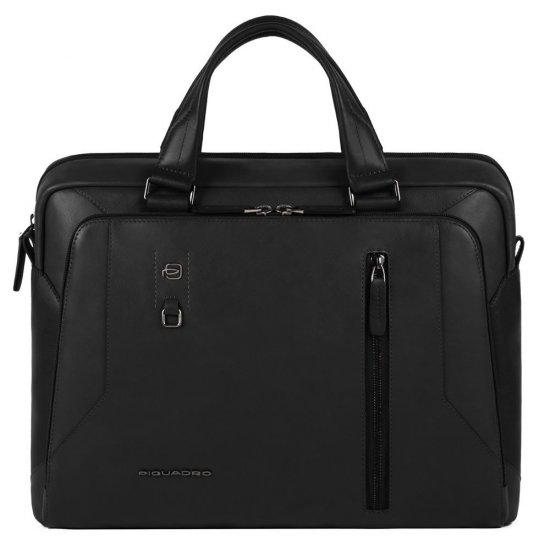 """Hakone Бизнес чанта с отделение за iPad AIR - iPad Pro 9,7/iPad 11"""" черен цвят - Дамски бизнес чанти"""