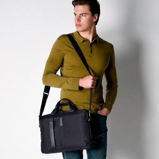 """Мъжка чанта с отделение за iPad AIR - iPad Pro 9,7/iPad 11"""" - Мъжки бизнес чанти"""