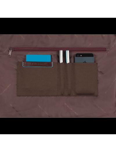 Blue Square Бизнес чанта за 15.6 инча ноутбук с едно отделение черен цвят -
