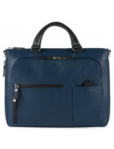 """Spock Бизнес чанта за iPad/iPad®Air/Air2 с разширение за 15"""" лаптоп тъмно син цвят - Сравняване на продукти"""