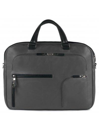Spock Бизнес чанта с отделение за iPad®/iPad®Air/Air2 и 15.6'' лаптоп лаптоп сив цвят - Сравняване на продукти