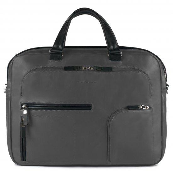Spock Бизнес чанта с отделение за iPad®/iPad®Air/Air2 и 15.6'' лаптоп лаптоп сив цвят - Дамски бизнес чанти