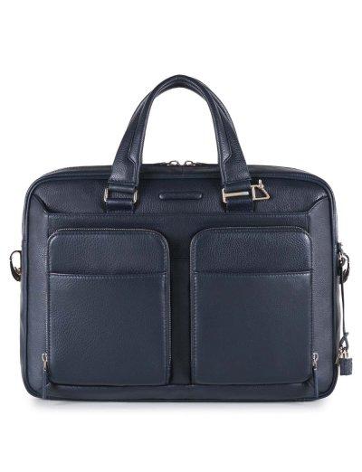 Modus Тънка бизнес чанта за iPad®Air/Air2 тъмно син цвят - Мъжки бизнес чанти