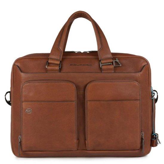 Black Square Бизнес чанта за iPad®Air/Pro 9,7 и CONNEQU светло кафяв цвят - Мъжки бизнес чанти