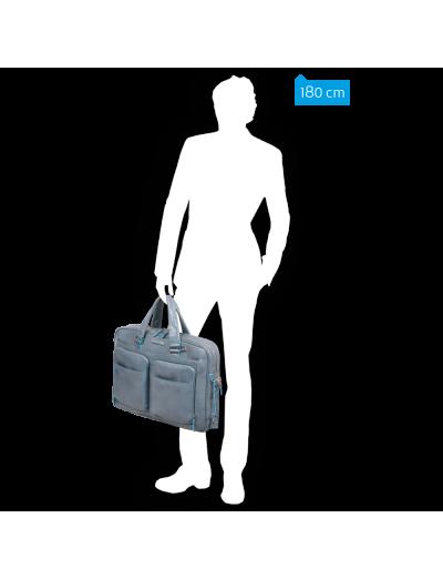 Blue Square Бизнес чанта за 15 инча лаптоп с едно отделение черен цвят  - Сравняване на продукти
