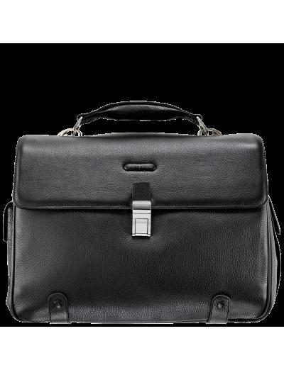 Modus Хоризонтална, бизнес чанта за 15 инча лаптоп с две отделения - Мъжки бизнес чанти