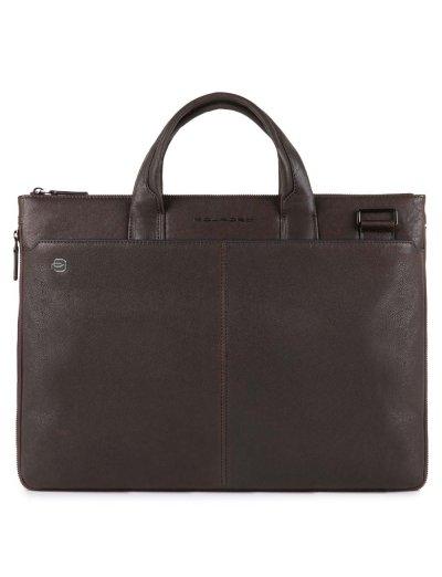 Black Square Елегантна, бизнес чанта за 15.6 инча лаптоп, iPad®Air/Pro 9,7 и възможност за разширение тъмно кафяв цвят - Сравняване на продукти