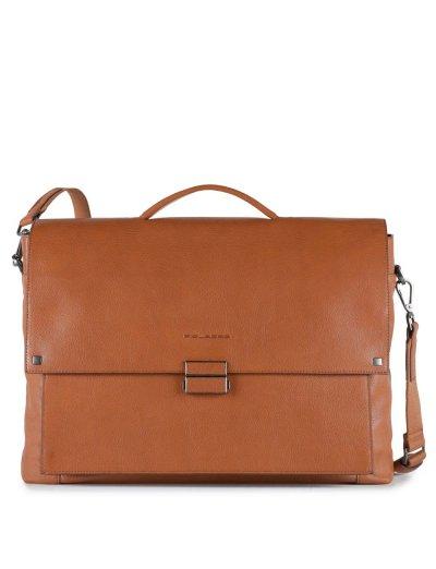 KOLYMA Голяма бизнес чанта с отделение за 15,6 инча лаптоп и iPad®Air/Pro 9.7 в светло кафяв цвят  - Сравняване на продукти