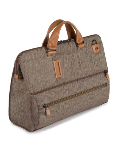 Трансформираща се чанта с отделение за 15,6 инча лаптоп и  iPad®Air/Pro 9,7 в светло кафяв цвят - Connequ