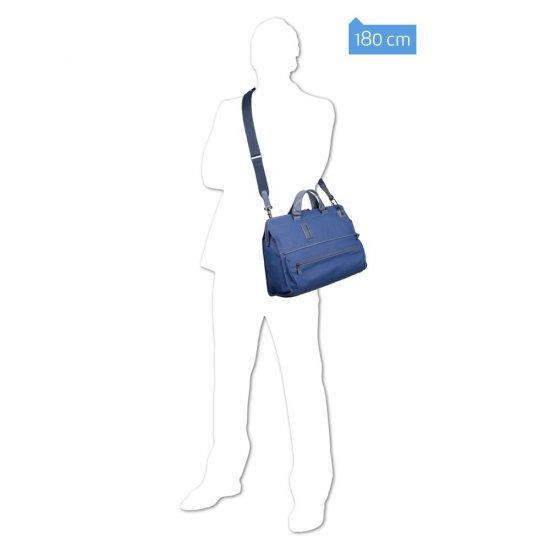 Трансформираща се чанта с отделение за 15,6 инча лаптоп и  iPad®Air/Pro 9,7 в светло кафяв цвят - Дамски бизнес чанти