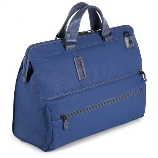 Трансформираща се чанта с отделение за 15,6 инча лаптоп и  iPad®Air/Pro 9,7 в син цвят - Дамски бизнес чанти