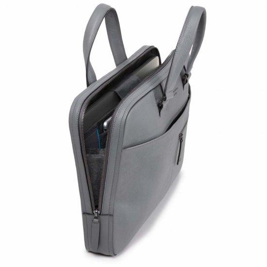 David Тънка бизнес чанта със сменяеми дръжки за 14 инча ноутбук в цвят бордо - Дамски бизнес чанти