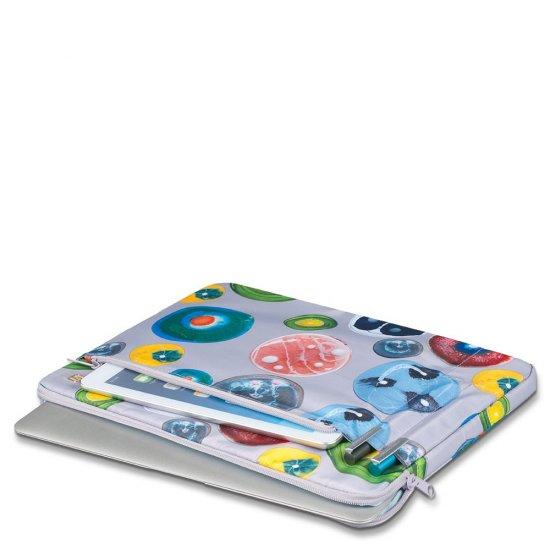 Omega Дамска чанта с мобилно отделение за iPad®Air/Air2 в небесно син цвят - Дамски бизнес чанти