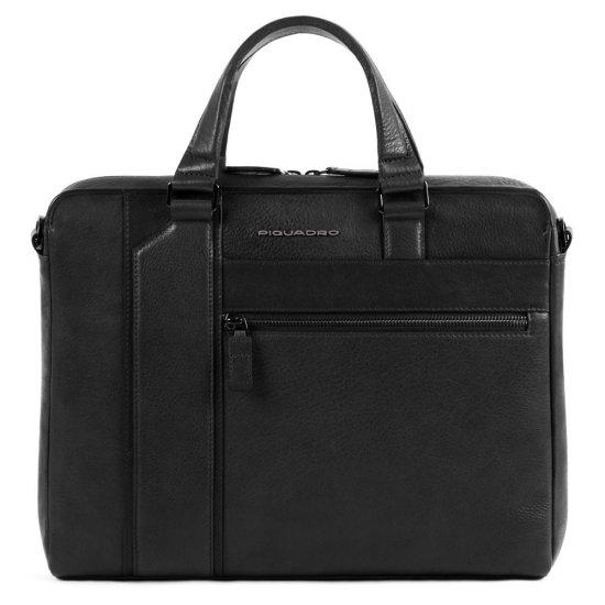 """KOBE Тънка чанта с отделение за iPad AIR - iPad Pro 9,7/iPad 11"""" в черен цвят - Дамски бизнес чанти"""