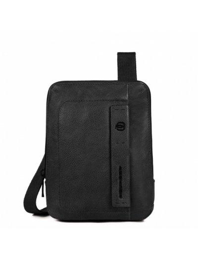 Компактна вертикална чантичка за рамо с отделение за iPad mini в черен цвят - Сравняване на продукти