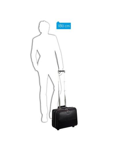 Modus Бизнес куфар на 2 колела за 15.6 инча лаптоп черен цвят - Сравняване на продукти