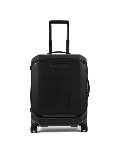 """Спинер на 4 колела 55см. височина с отделение за 15,6"""" лаптоп и iPad® в черен цвят - Куфари"""
