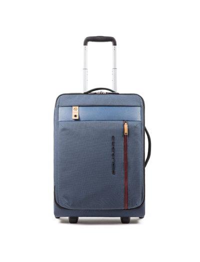Blade Куфар на 2 колела 55 см. височина ултра тънък в светло син цвят - Куфари