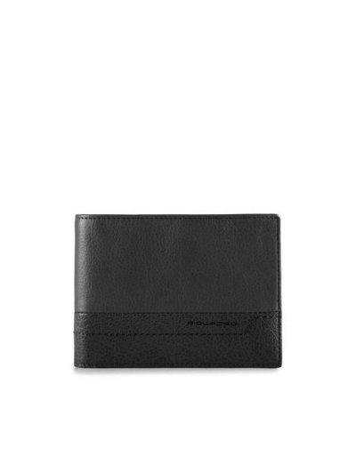 Мъжки портфейл от естествена кожа с отделения за карти и монети и RFID защита - Мъжки портфейли