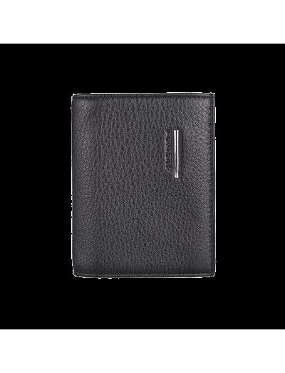 Modus Мъжки портфейл, вертикален в черен цвят - Мъжки портфейли