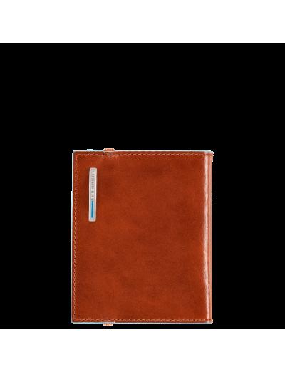 Blue Square Портфейл от естествена кожа за кредитни карти - Дамски портфейли