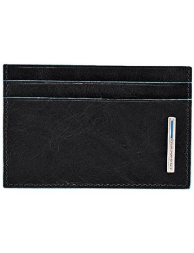 Blue Square Луксозен калъф за кредитни карти в черен цвят - Дамски портфейли