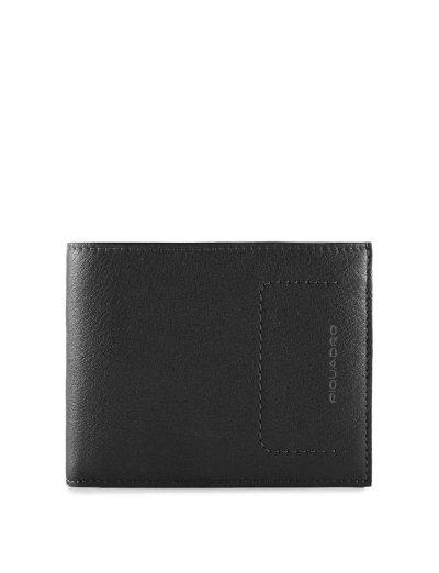 David Мъжки портфейл от естествена кожа с отделения за карти и RFID - Аксесоари