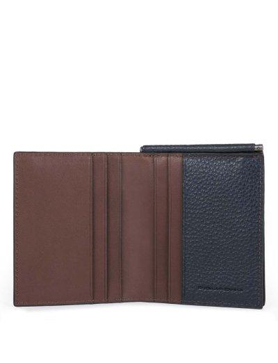 Scott Мъжки портфейл от естествена кожа с отделения за карти и RFID - Аксесоари