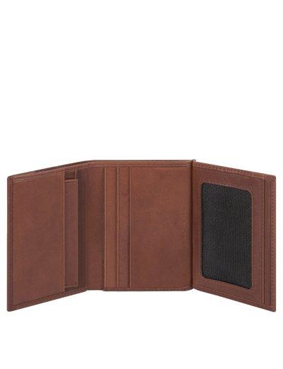 KOBE Мъжки портфейл от естествена кожа с отделения за карти и RFID защита в кафяв цвят - Сравняване на продукти