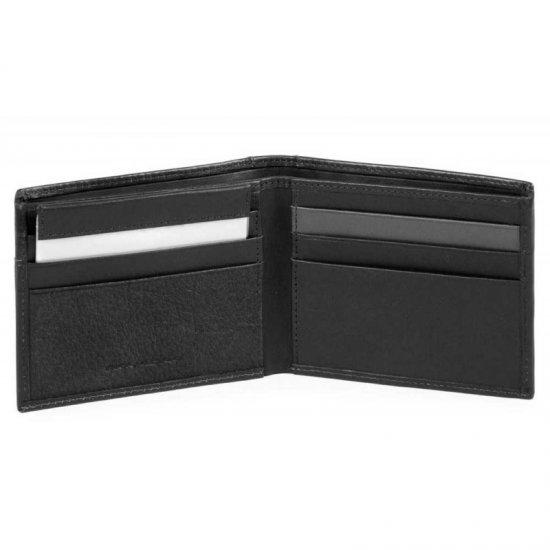 Vanguard Мъжки портфейл с мобилен калъф за карти и RFID защита в черен цвят - Мъжки портфейли