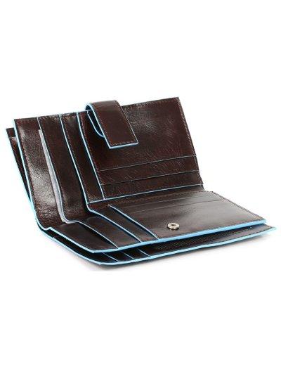 Blue Square Луксозен дамски портфейл от естествена кожа в лилав цвят - Сравняване на продукти