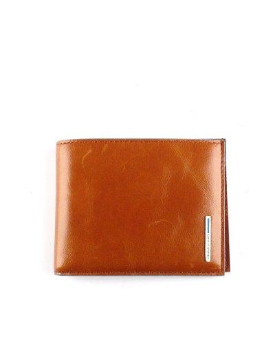 Blue Square Луксозен, хоризонтален мъжки портфейл от естествена кожа в оранжев цвят - Сравняване на продукти