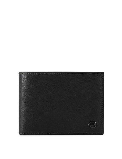 Black Square Мъжки портфейл от естествена кожа с отделения за карти и RFID в черен цвят - Сравняване на продукти