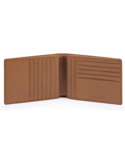 Cube Мъжки портфейл от естествена кожа с отделения за карти и RFID - Аксесоари