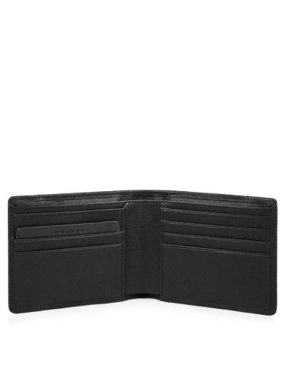 Brief Мъжки портфейл от естествена кожа с отделения за карти и RFID в черен цвят - Сравняване на продукти