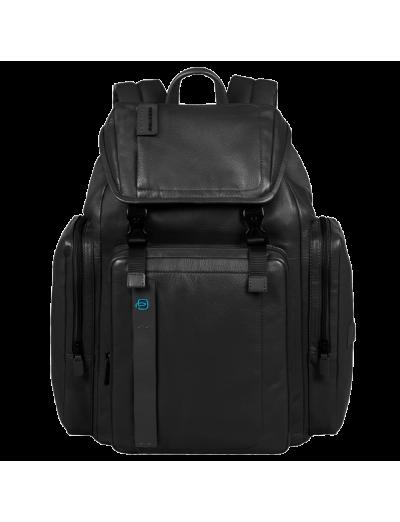 Pulse Голяма раница за 13 инча лаптоп и отделение за iPad/iPad Air и iPad mini черен цвят - Pulse