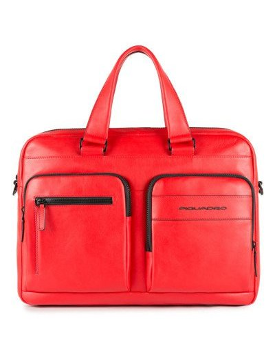 Setebos Бизнес чанта за 15 инча лаптоп червен цвят - Дамски бизнес чанти