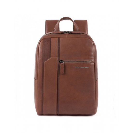 KOBE Раница за 11 инча ноутбук в тъмно кафяв цвят - Бизнес раници