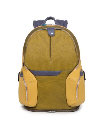 Coleos Непромокаема компютърна раница за 14 инча лаптоп и iPad®Air/Pro 9,7 в жълт цвят - Coleos