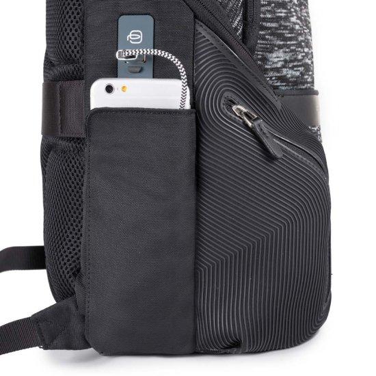 Coleos Раница за лаптоп с отделение за iPad®Air/Pro 9,7 и извод за USB и micro-USB черен цвят - Бизнес раници