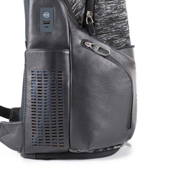 BagMotic Раница за лаптоп с отделение за iPad®Air/Pro 9,7, извод за USB и micro-USB и LED светлини - Бизнес раници