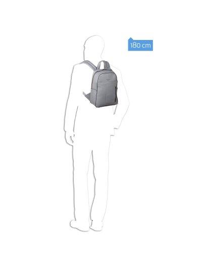 David Раница с отделение за iPad®Air/Pro 9,7 и 15 инча лаптоп в черен цвят - David