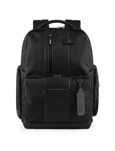 BagMotic Раница за 15,6 инча лаптоп с кодова ключалка в черен цвят - Сравняване на продукти